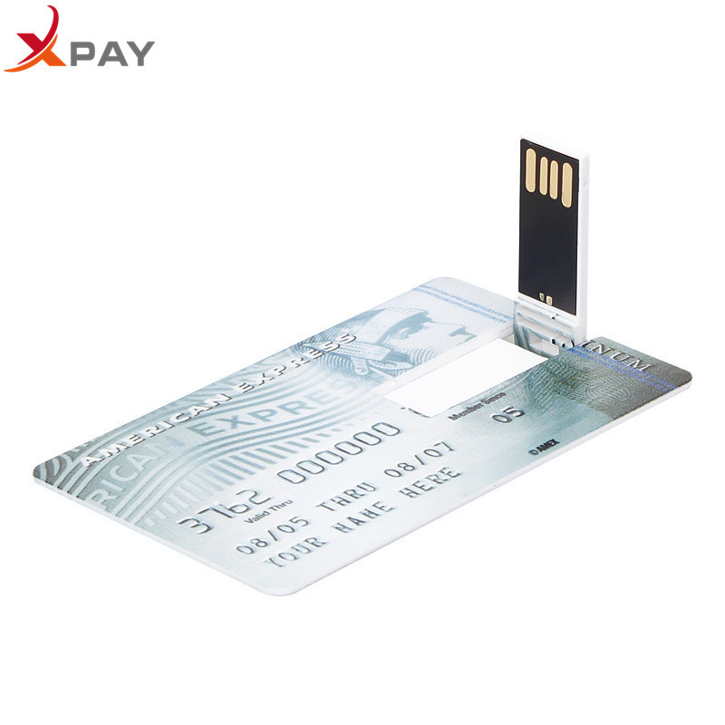 Image 4 - USB 2.0 pendrive 128GB Credit Card usb flash drive 32GB 4GB 8GB 16GB 64GB pen drive Super thin Master Card usb flash free LOGO-in USB Flash Drives from Computer & Office