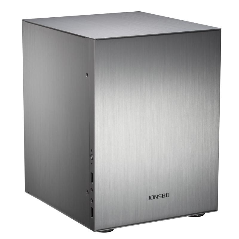 Prix pour Jonsbo C2 C2S De Bureau Mini PC Boîtier de L'ordinateur Ordinateur Châssis EN Alliage D'aluminium HTPC Cas USB 3.0 Haute Quilty Vente Chaude