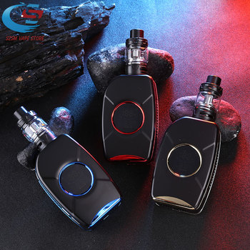 Newest Electronic cigarette 150W box mod kit vape Built in 2200mAh battery Tank capacity 4ML Atomizer huge vaporizer Vapor E-cig huge vapor 150w vape kit big power 150w box mod laser e cigarette cool vaper kit 3500mah battery electronic cigarette vaporizer