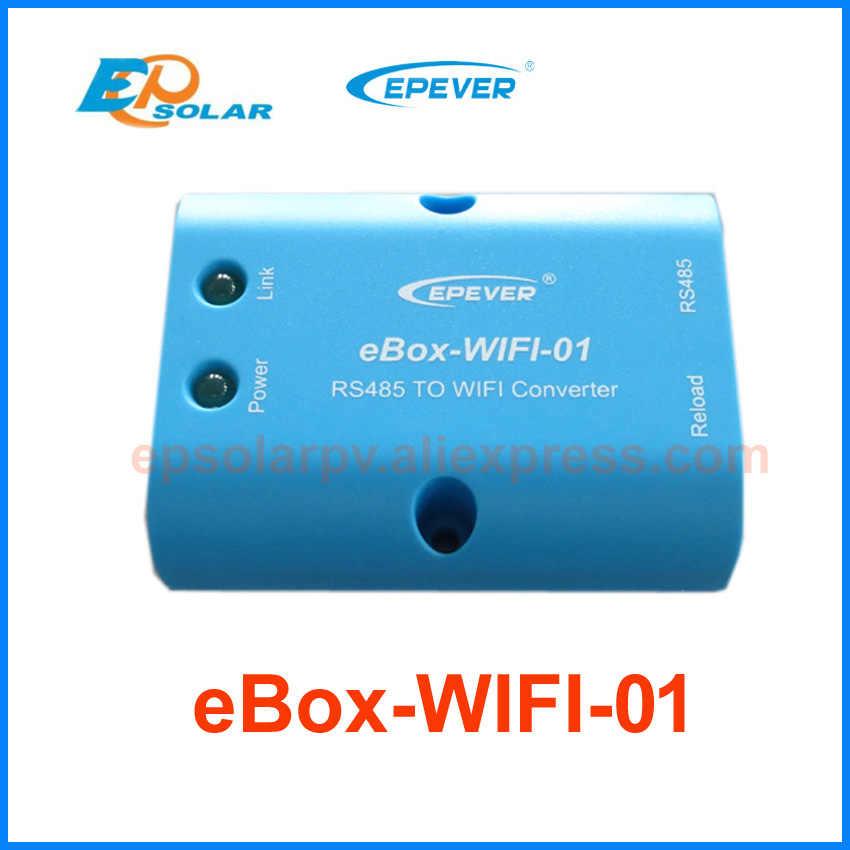 Excelente precio y calidad Tracer2210CN trabajo auto de 12 v 24 v regulador solar cable USB + cable de sensor función wifi caja