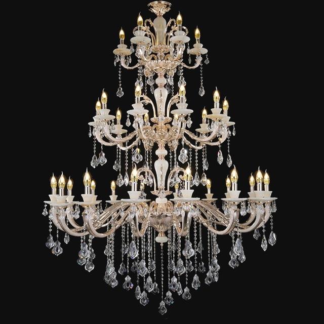 Wohnkultur Beleuchtung Antike Bronze Kronleuchter Chihuly Stil Kronleuchter  Kerzenhalter Gold Kristall Kronleuchter Perlen DIY Hochzeit