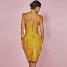 Deep v Neck Vestido Bodycon Bandage Dress