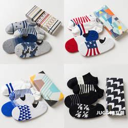 2017 4 пары новый Caramella сплошной Хлопок многоцветный мужской подарок цвет носки-башмачки хлопковые носки мужские невидимый человек