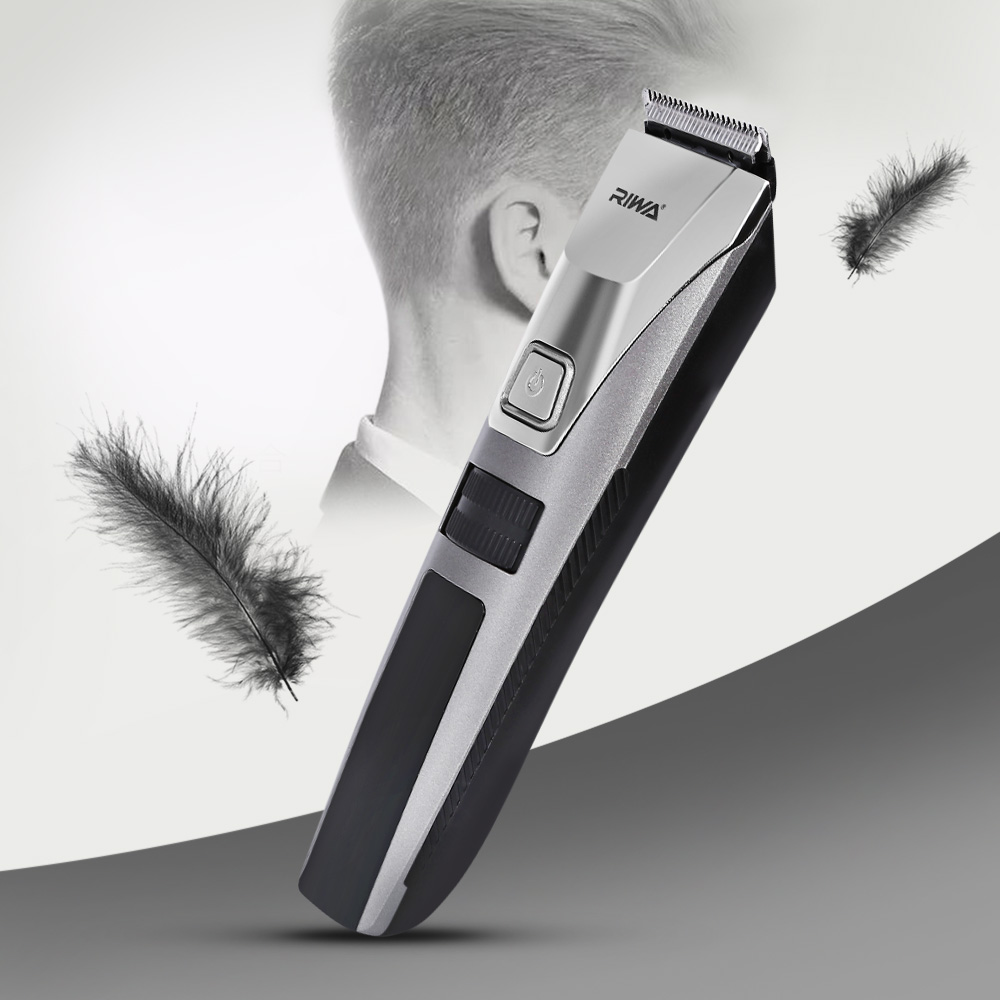 RIWA K3 Portable Electric Rechargeable Washable Cordless Hair Clipper Trimmer Barber Hairdressing Cutting Machine Styling Tools