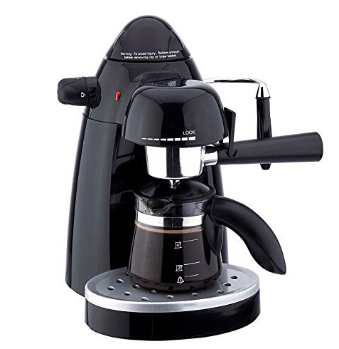 K Cup Coffee Maker With Milk Steamer : Automatic Espresso Coffee maker 4 Cup Coffee machine High pressure Steam Espresso machine Milk ...