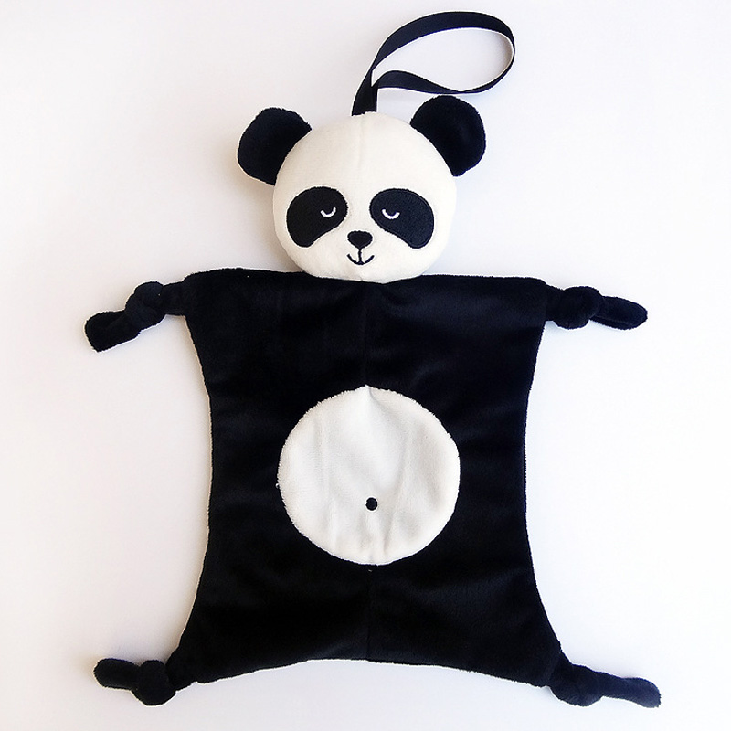 Babypflege 3 Farben Babys Plüsch Beruhigende Spielzeug Sicherheit Decke Baby Spielzeug Beruhigende Handtuch Panda Kaninchen Elefanten Lätzchen Beruhigen Handtuch Bad & Dusche Produkt