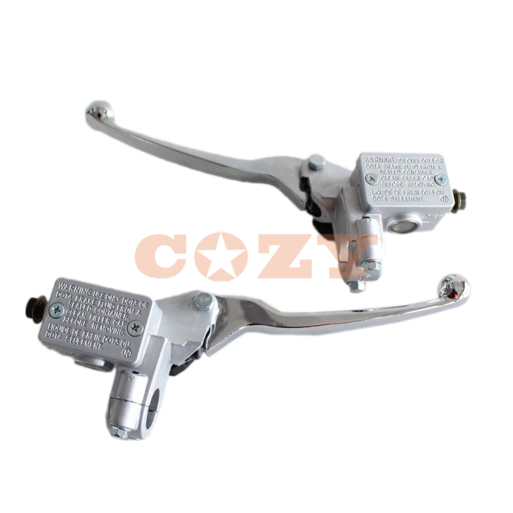 New Left + Right Brake Master Cylinder For GY6 50cc 125cc 150cc 250cc  Scooter Moped Motorcycle Quad