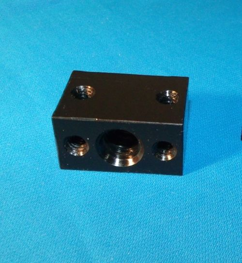 SWMAKER 2 Pcs * 1/2-10 ACME DELRIN NUT BLOCK RH For Acme Threaded Rod CNC