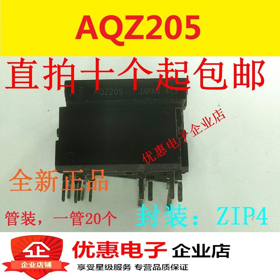 10PCS AQZ205 SIP 4 new original