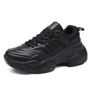 Image 4 - Cowcomドロップ販売秋冬2019ネット赤女性の靴百通気性プラスベルベットの靴白靴CYL 657