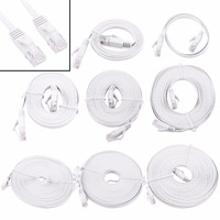 0 5 1 2 3 5 8 10 15m Ethernet Cable High Speed RJ45 CAT6 Flat