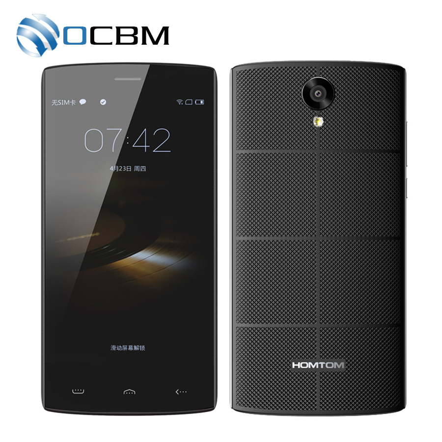 In Stock Original HOMTOM HT7 Android 5 1 MTK6580A 1G RAM 8G ROM 1280x720 5 5