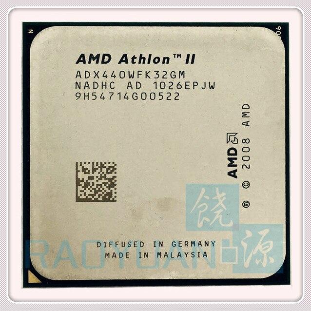 AMD Athlon II X3 440 X3-440 3GHz Triple-Core CPU Processor ADX440WFK32GM Socket AM3 938PIN