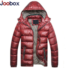 JOOBOX Brand Winter Jacket Men New 2017 Fashion Warm Down Jacket parkas hombre invierno Padded Casual Handsome Winter Coat