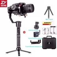 מצלמה קנון Zhiyun קריין פלוס 3 gimbal כף יד הציר מייצב 2.5kg 5.5lb Payload עבור סוני פנסוניק קנון ניקון Fujifilm Dsrls מצלמה (1)