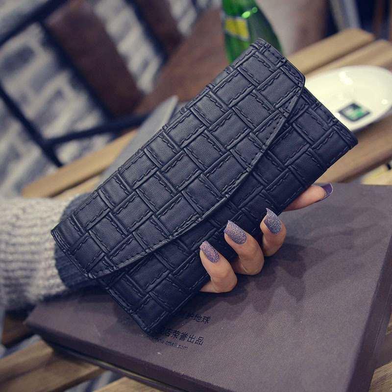 Carteira Feminina carteras mujer women wallet portomonee portfel female purse portfel damski minimalist ladies leather wallets
