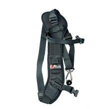 Foucs F1 Быстрый Быстрое Камера одного плеча слинг черный ремешок для DSLR Камера 7D 5D Mark II D800 A77 60D