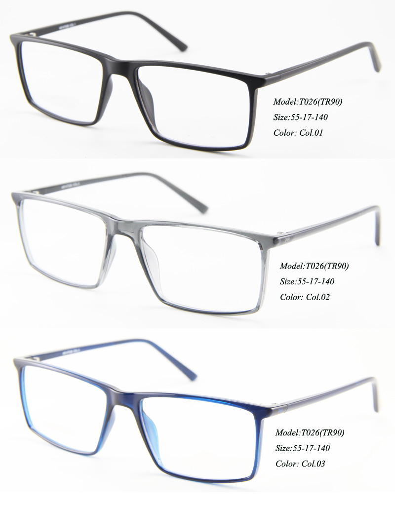 Eye wonder Wholesale Men Rectangular Eyewear Optical Frames Demi ...