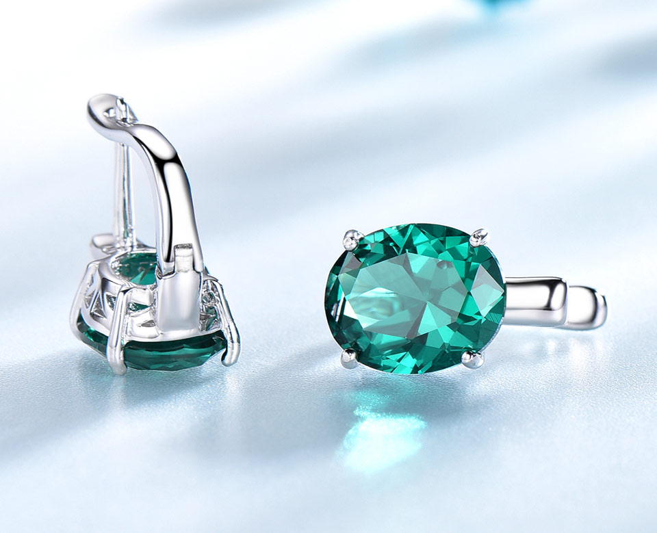 UMCHO-Emerald-925-sterling-silver-clip-for-women-EUJ085E-1-PC_05