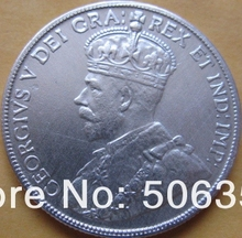 {1911-1936} 13 coins canada 50 cents coins copy FREE SHIPPING(China)
