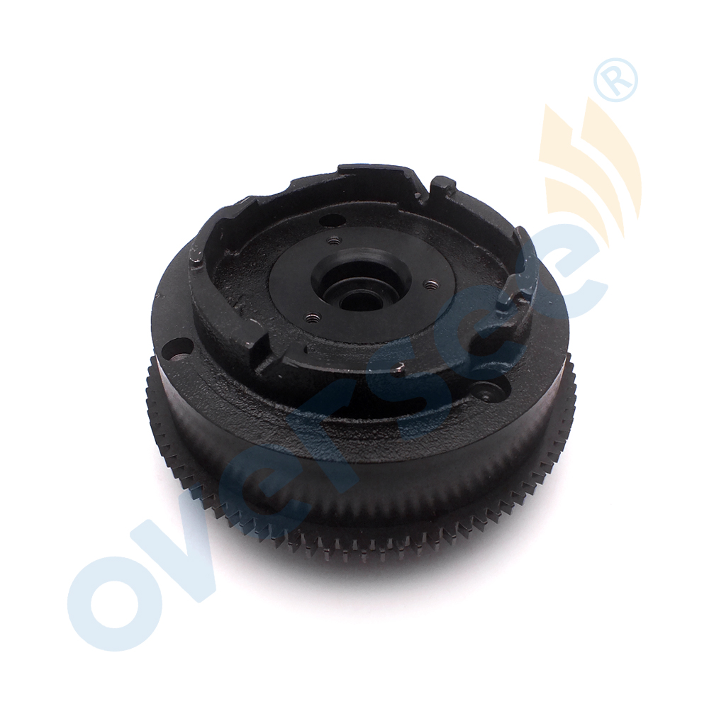63V-85550-00 Electric Flywheel For Yamaha Outboard Engine 9.9HP 15HP ROTOR ASSEMBLY For Parsun 2