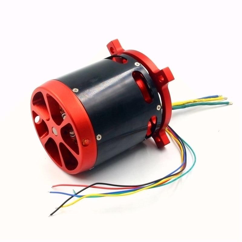 FATJAY BLDC brushless DC sensored motor outrunner 30 70V large 8092 70KV with hall sensor for