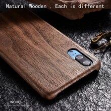 Caso de telefone de madeira natural para huawei p20 pro capa preta madeira gelo, romã madeira, noz, rosewood para huawei p20