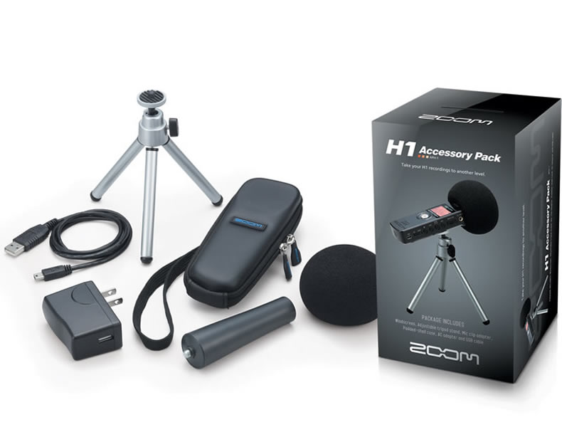 Zoom Aph1 Aph 1 Handy Recorder Accessory Package Professional