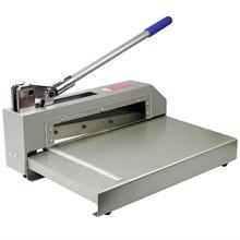 Сильная стрижка режущего ножа алюминиевый лист резак сверхмощная печатная плата полимерная пластина металлическая стальная бумага режущая машина