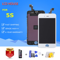 Hot Sale AAA Display For IPhone 5 5S 5C LCD Screen With Touch Digitizer Assembly Replacement
