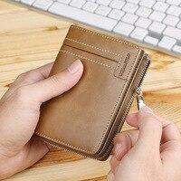 2018 Genuine Leather Cion Purse Card ID Holders Zippy Card Holder Cowhide Women Wallet Fashion Wallets