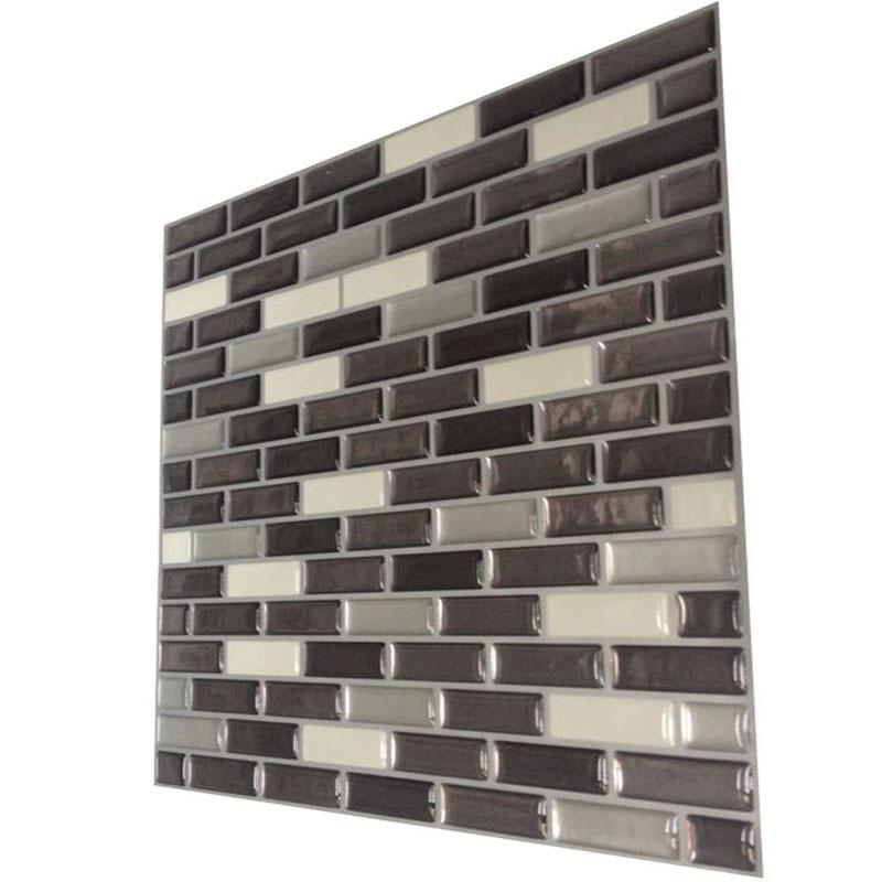 Mosaic Wall Tile Peel And Stick Vinyl Wall Tile Self