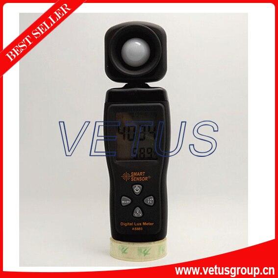 ФОТО AS803 low price digital lux meter with range 1~100.000lux