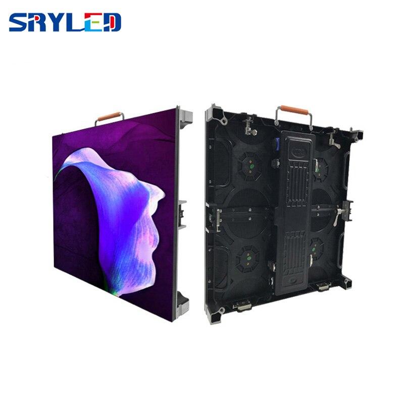 P3.9 P3.91 Painel de Parede de Vídeo Ao Ar Livre Conduziu a Exposição da Tela 500x500mm Preço