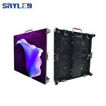 Painel de vídeo de parede p3.9 p3.91, display led externo, 500x500mm, preço