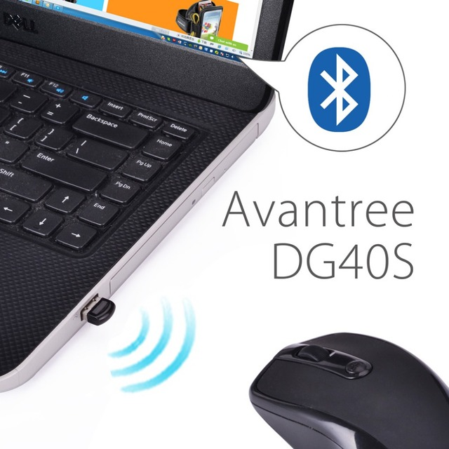 Avantree USB Bluetooth 4.0 Adapter Dongle for PC Laptop Computer Desktop Stereo Music, Skype Call, Keyboard, Mouse