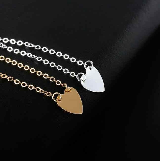 La251 Свадебные украшения новые модные аксессуары золотой и серебряный браслет в форме сердца женский Шарм ювелирные изделия