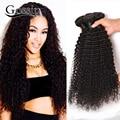 Малайзийский Странный Вьющиеся Волосы Девственницы 4 Связки Малайзии Девы Волос Afro Kinky Вьющиеся Weave Человеческих Волос Связки Малайзии Вьющиеся Волосы