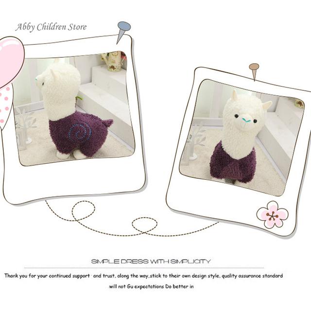 Fabric Sheep Stuffed Animal