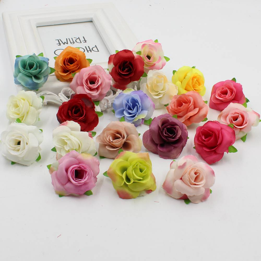 30 Pcs Simulation Of Flowers Fresh And Artificial Small Tea Bud Tea