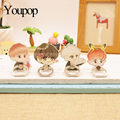 Kpop Exo CHANYEOL Youpop Álbum Monstro Caso K-POP Anel Anéis de Dedo Stand Titular de 360 Graus ZHK