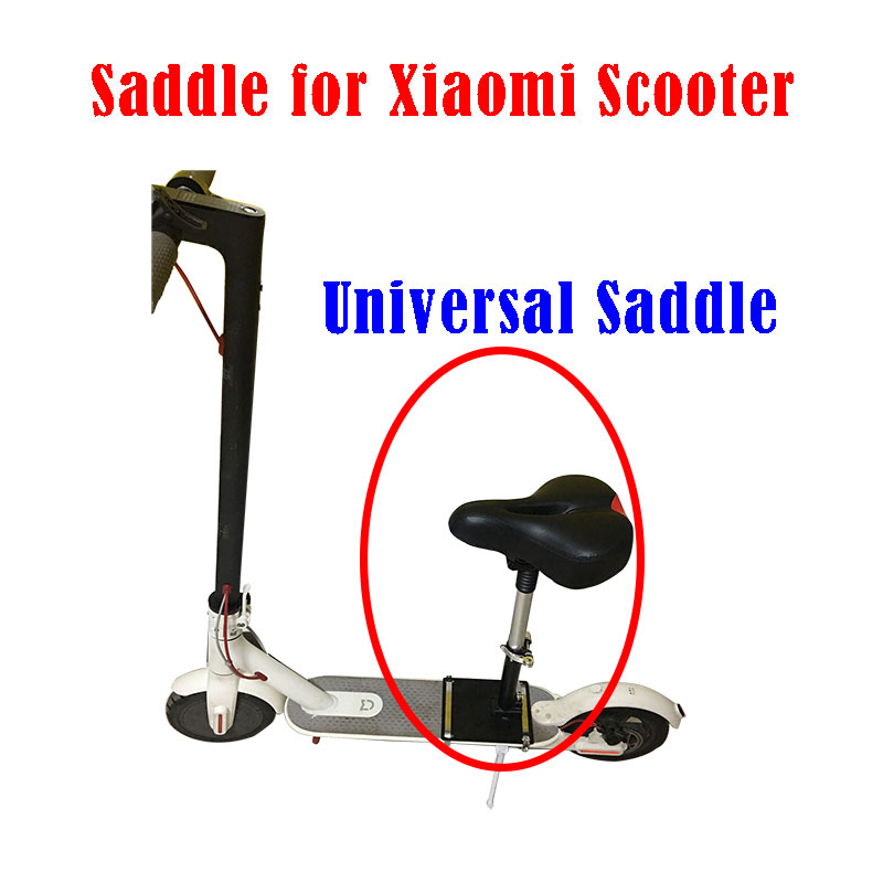 M365 Xiaomi Electric Scooter Seat Foldable Saddle Shock Absorbing Seat Comfortable Folding Chair for all kinds of scooters electric scooter antiskid seat hand brake recreation vehicle collapsible disabled safety comfortable for single elder people