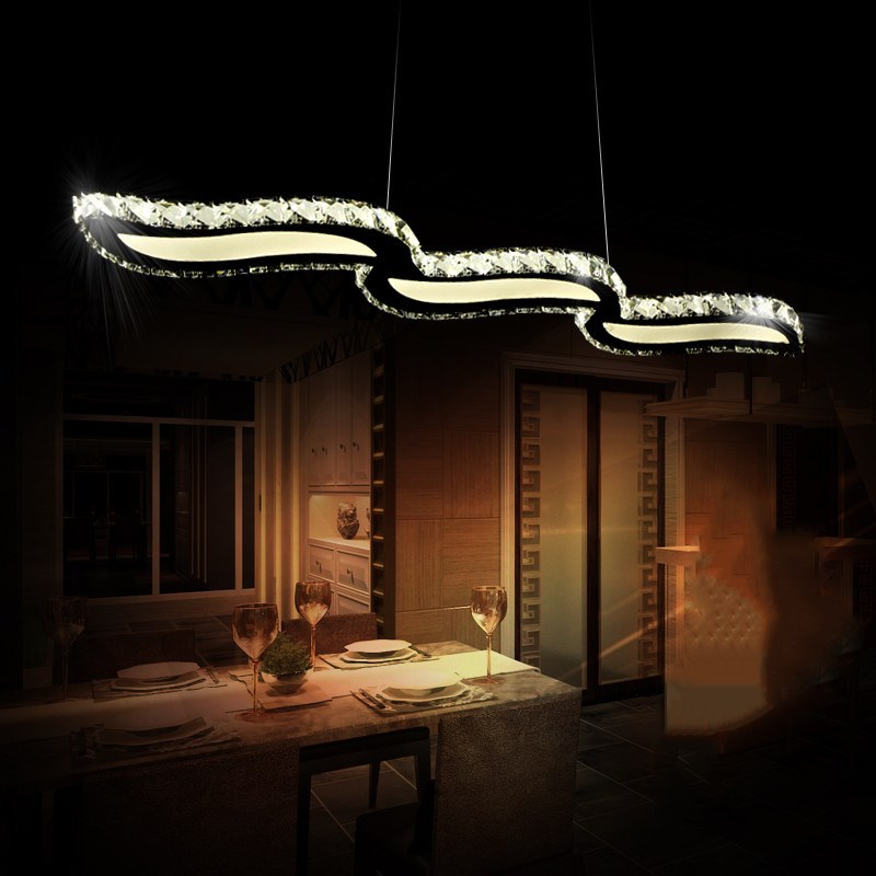 Modern Luxury home Decoration Lustre Led Crystal Chandelier Lighting Ceiling Chandeliers led Lights Lamparas Suspension Lampen