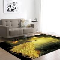 Simple 3D Print Modern Carpet Nordic Style Carpets For Living Room Bedroom Decor Rug Bathroom Non slip Mat Kids Room Crawl Rugs