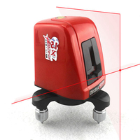 AcuAngle A8826D Laser Level 2 Red Lines with 1 Point 360 degree Rotation Self leveling Cross Laser Levels