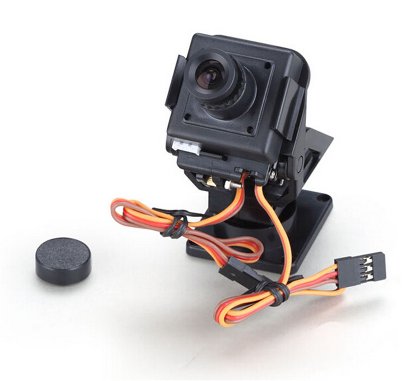 TS832 600mW Wireless Transmitter PAL System 2 Axis Servo Gimbal Camera One Machine 7 800*480 RC732 DVR TFT LCD Screen - 3