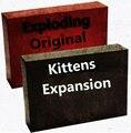 Venda quente jogo de tabuleiro versão NSFW explodindo explosão Gato original gatinhos popular amigos da família jogo de mesa brinquedos interessantes
