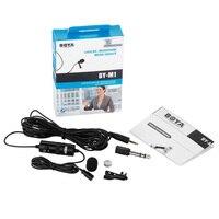 BOYA İLE BY-M1 Mikrofon 3.5mm Elektret Kondenser Mic Kaydedici ile 1/4
