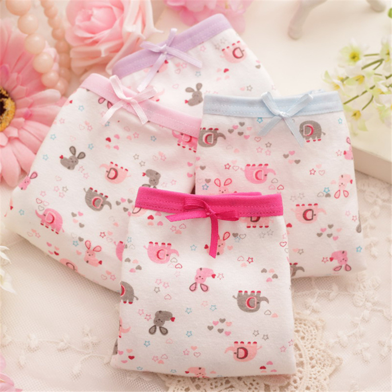 4 PCS/lot baby baby girl child's for girls underpants shorts nurseries children's boxer Underwear kids panties CGUB 2377 недорго, оригинальная цена
