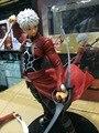 Figura de ação Fate Stay Night Emiya Shirou Emiya Ilimitado Lâmina Works UBW Archer 25 cm PVC dom brinquedos Modelo Colecionável Anime